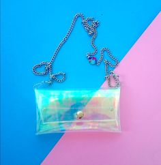 Holographic phone chain case for iPhone HTC Samsung by YPSILONBAGS