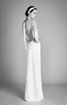 Those laced back details... Alice Temperley Beatrice Collection, 2012
