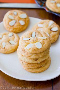 Cinnamon Sugar Sand Dollar Cookies.