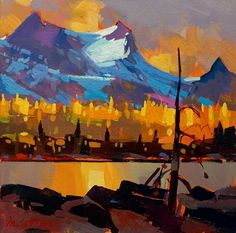 Gold at Yoho II, by Michael O'Toole