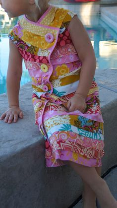 Bias and Buttons Dress Tutorial... sewing tutorial using a shirt or dress to create a pattern for the top of the dress.