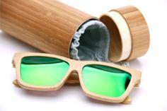 Bambus Sonnenbrille, Classic Green #bambuu