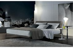 Park Bed by Carlo Colombo for Poliform   Poliform Australia