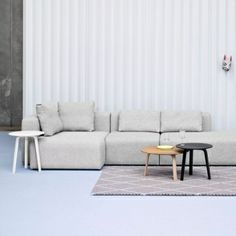 The Bella coffee table was designed by Hay originally for the Bella Sky Hotel in Copenhagen. After a few adjustments, the simple and beautiful table became part of the Danish brand's own furniture collection.