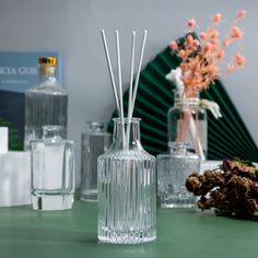 Aroma Diffuser, Glass Diffuser, Bottle, Flask, Jars