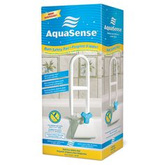 The AquaSense Bathtub Safety Bar provides a safe and stable surface to hold onto while entering or exiting the bath * Click image to review more details. (As an Amazon Associate I earn from qualifying purchases)