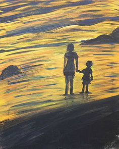 Hand in Hand by Yehudit Schwartz Dip And Dab, Framed Prints, Canvas Prints, Painting Studio, Dips, Greeting Cards, Tapestry, Creative, Artwork