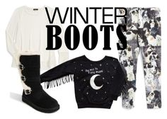 """Uggs the perfect winter boots for tween girls"" by tweeninstyle on Polyvore featuring Zara Terez, Ella Moss and UGG Australia"