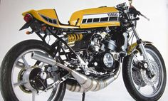 Yamaha TZ350 with. . .  RD Tank