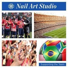 Are you ready for the next round of games? Use our Nail Art Studio and any nations flag to create custom nail wraps to wear as you cheer on your team! Who will you be cheering for? #soccer #sports #usa #futbol #nation #fifa #worldcup http://jillr.jamberrynails.net