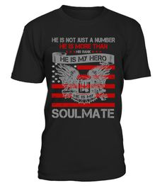 # He is my Hero- Soulmate T-Shirt .  Tags: military, veterans, veteran, wife, love, funny, Warishellstore, War, Is, Hell, Store, Effort, Vintage, Rifle, Revolver, Propaganda, Political, Police, Patriotic, Navy, Government, Army, Americana, tenis, states, sport, soccer, politic, music, love, life, hot, item, hobby, healthy, good, geek, game, footbal, famous, family, country, cheap, best, basketball, animal, fleet, berth, armada, Usa, Troops, Stars, Stripes, Sea, Patriot, Memorial, Marine…