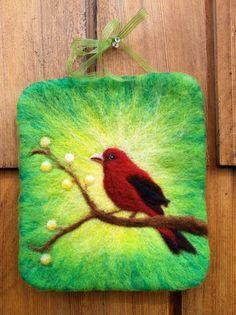 Cheerful Bird Wall Hanging