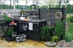 Kitchen Garden In The Kitchen Style 26 What Is Interior Design, Interior Design Pictures, Backyard Projects, Outdoor Projects, Outdoor Spaces, Outdoor Living, Outdoor Decor, Outdoor Kitchen Design, Outdoor Cooking