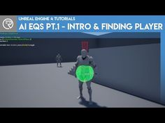 Unreal Engine 4 Tutorial - AI EQS Part 1 - Introduction & Finding the Player Video Game Development, Game Engine, Unreal Engine, 3d Modeling, Adobe, Engineering, Tutorials, Tips, Youtube
