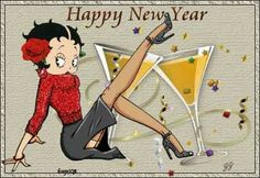 "Betty Boop...""Happy New Year!"""
