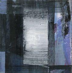 GRISAZUR: Acrílico sobre papel, 13x13 cm.Sep. 14, 2016