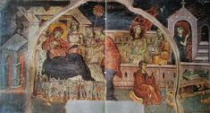 Byzantine, Fresco, Irene, Virgin Mary, Painting, Projects, Log Projects, Fresh, Blue Prints