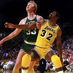Magic Johnson and Larry Bird un verdadero ejemplo de rivalidad deportiva