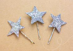 DIY Twinkle Star Bobby Pins | Sprinkles in Springs