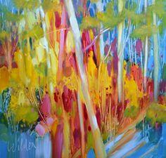 Spring by Judy Wilder Dalton Oil ~ 8 x 8
