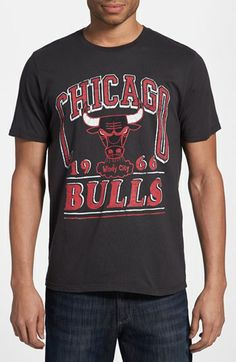 Junk Food 'Chicago Bulls' Cotton T-Shirt | Nordstrom