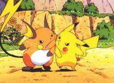 Photo of No friendship at all! for fans of Pikachu vs Raichu 9522590 Fotos Do Pokemon, Gen 1 Pokemon, Pikachu Raichu, Pokemon Eevee, Squirtle Squad, Satoshi Tajiri, Famous Cartoons, Fandom Crossover, Smosh