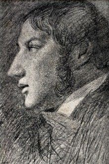 John Constable June 1776 – 31 March an English Romantic painter. Self-portrait pencil on paper, Tate Gallery London. His only indisputable self-portrait, drawn by an arrangement of mirrors. Frank Stella, Self Portrait Drawing, Tate Gallery, White Horses, Old Master, Famous Artists, Male Artists, Best Artist, Art History