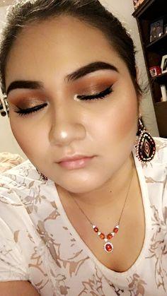 My go to makeup look!