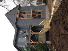 Front elevation for home in East Nashville