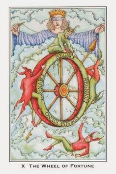 Sunday's Tarot:  WHEEL OF FORTUNE (Nigel Jackson Tarot) – A favorable turning point and improvement is in the air today!  What goes up must come down, signifying the ability to close or finish one thing and begin anew. If things haven't been going your way lately, Lady Luck is smiling on you today.  Accept whatever good fortune she brings and enjoy that goodness – you deserve it :)