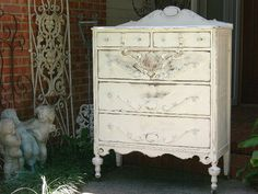 Custom Painted Dresser Order Your Own Lowboy Dresser Chest Bureau Bath Vanity…