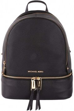 MICHAEL KORS Rhea small leather backpack (A purse without the shoulder  strain! e48a1fdee553d