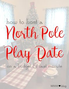 Because our son is only so little for so long, I thought this would be the perfect chance to capitalize on his joy of the holidays and host our first annual North Pole play date. With the holiday right around the corner I knew I had to get things planned and guests invited quickly. Here is how we planned our last minute North Pole play date with friends. #Evite #PartyontheFly #LifeisBetterTogether #sp