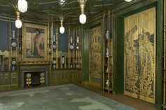 Whistler's Peacock Room. One of my absolute favorite decorative works of art ever :)
