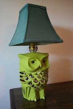 Handmade Detroit | Owls that light up your life
