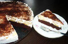 Banánový mls? Když mě honí mlsná, tak mě tento dortík vždycky potěší. Jeho hořká chuť korpusu, sladká náplň a jednoduchost příp Dessert Recipes, Desserts, Tiramisu, Sweet Tooth, Cheesecake, Treats, Cooking, Ethnic Recipes, Food