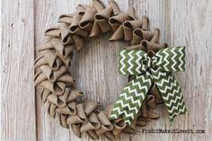 Petal Burlap Wreath   How to Cheat the Perfect Bow November 14, 2014 By: Melanie12 CommentsPetal Burlap Wreath   How to Cheat the Perfect Bow