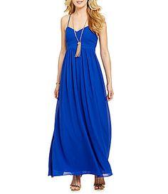 Belle Badgley Mischka XBack Maxi Dress #Dillards