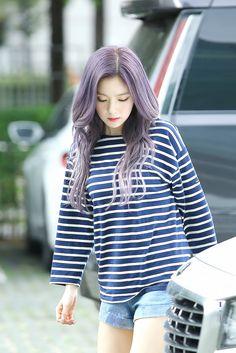 Hair color!