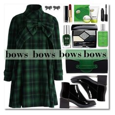 """Put a Bow on It!"" by lenochca ❤ liked on Polyvore featuring Chicwish, Barry M, Emeline Coates, Marc Jacobs, DKNY, Christian Dior, Bobbi Brown Cosmetics, Cane + Austin and bows"