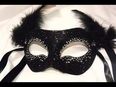 "▶ Masquerade Mask "" Night Sky"" DIY - YouTube"