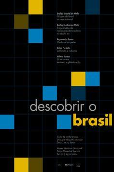 22 descobrirobrasil poster by thiago lacaz