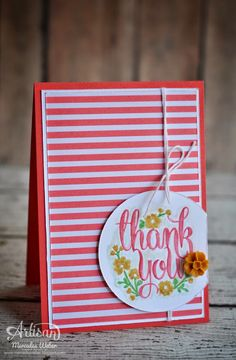 Stampin Up Artisan Blog Hop- A Whole Lot Of Lovely | Creations by Mercedes