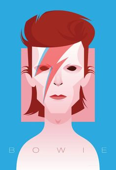 bowie - Stanley Chow Illustration & Design