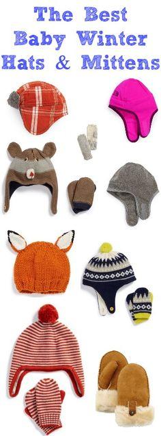 Best Winter Baby Hats + Mittens