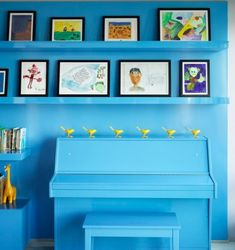 Displaying Kids Artwork in a Sophisticated Fashion Displaying Kids Artwork, Bohemian Apartment, Sophisticated Style, Sliding Doors, Oeuvre D'art, Les Oeuvres, Art For Kids, Living Spaces, Frame