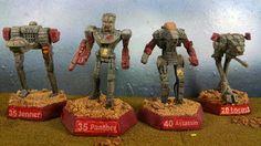 Battletech Miniatures-Draconis Combine (House Kurita), 2nd Legion of Vega:  Jenner, Panther, Assassin, Locust