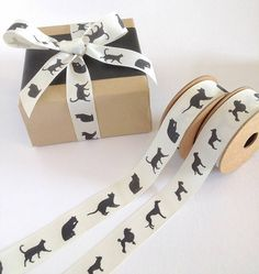 Cat and Dog Ribbon by Jane Means