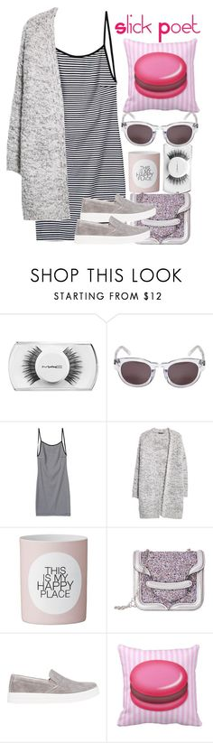 """""""Macarons"""" by slickpoet ❤ liked on Polyvore featuring MAC Cosmetics, Kenzo, MANGO, Alexander McQueen and Prada Sport"""