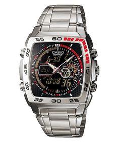 Casio Edifice Wrist Watch for Men for sale online Casio Watch, Casio Quartz, Sport Watches, Cool Watches, Watches For Men, Latest Watches, Men's Watches, Relogio Casio Edifice, Men Accessories